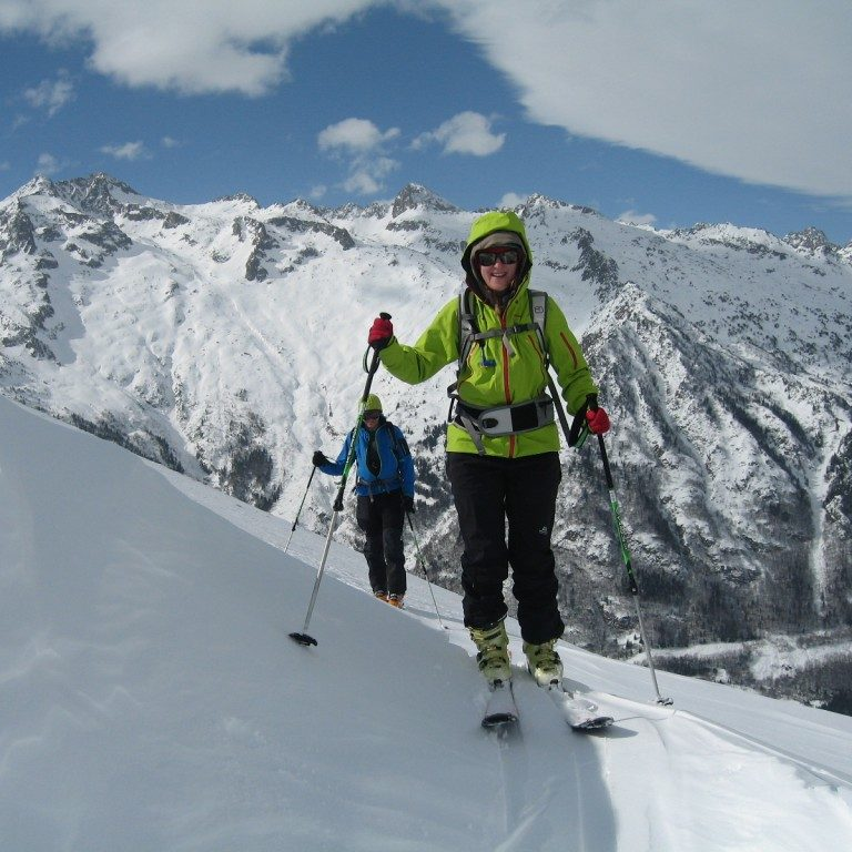 ski touring weekend try out